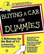 Buying a Car for Dummies by Deanna Sclar (1998, Paperback)