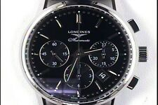 Longines Column Wheel Chronograph 40MM Watch L27494520 Retails @ $3,300.00