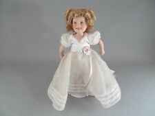 "Shirley Temple Curly Top Doll Danbury Mint Porcelain 10"" Movie Classics"
