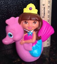 DORA THE EXPLORER FISHER PRICE ACTION FIGURE DORA ON SEAHORSE PLAY TOY FREE SHIP