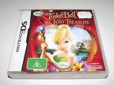 Tinker Bell and the Lost Treasure Nintendo DS 2DS 3DS Game Preloved *Complete*