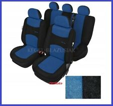 Blue Sport Line Tailored Full Set Seat Car Covers Ford Focus Mk1 Mk2 up to 2010