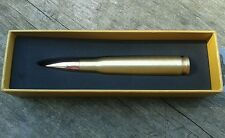 .50 Caliber Bullet Pen (Brass) PERSONALIZED / ENGRAVED FREE