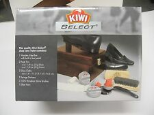 Kiwi Shine Box - Shoe Valet- Shoe Shine Kit -Wooden Shoe Shine Box - NEW