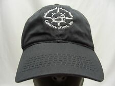 ADVANCED AMERICAN CONSTRUCTION - EMBROIDERED - ADJUSTABLE BALL CAP HAT!