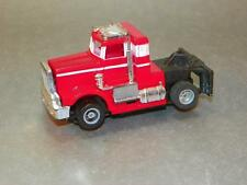 Vintage TYCO HO US-1 Electric Trucking RED Peterbilt Semi Truck Slot Car Works!