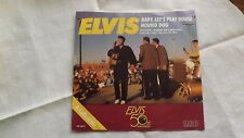 ELVIS PRESLEY 45 PS Baby Let's Play House GOLD VINYL on RCA 13875