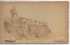 1890s Photo of Sutro Heights by McDonald San Francisco CA