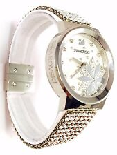 Swarovski Watch Piazza Lady Starry Night SILVER Mesh ref 5040326 NEW box Papers