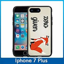 Zero Fox's Given Funny For Iphone 7 Plus (5.5) Case Cover By Atomic Market