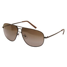 CALVIN KLEIN CK - BRONZE AVIATOR SUNGLASSES WITH CASE