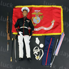 Cal-Tek USMC Dress Blue Marine 1/6 Figure(NO BOX)