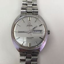 OMEGA SEAMASTER COSMIC DAY-DATE VINTAGE MENS WATCH 166.036 W 1480 BRACELET