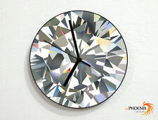 Diamound - Gemstone - Precious Jewel - Wall Clock