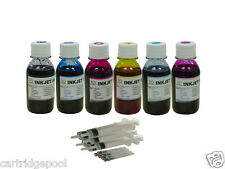 6x4oz Refill Ink for HP 02 C5180 C6180 D7260/7360 D7160