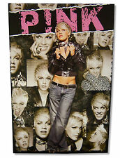 PINK P!NK - SCARF PORTRAITS GLOSSY WALL POSTER 24X35 NEW MUSIC SINGER