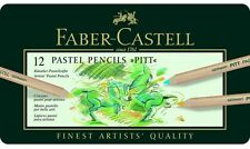 FABER-CASTELL - PITT PASTEL- ARTISTS QUALITY PENCILS - 12 SET