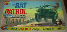 TRANSOGRAM  THE RAT PATROL  DESERT COMBAT GAME  1966