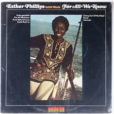ESTHER PHILIPS w/ BECK: For All We Know KUDU Sealed JAZZ funk VINYL LP