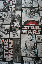 Star Wars The Force Awakens Single Bed Quilt Cover Rey Finn R2D2 Chewie Fabric