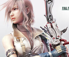 Lightning Light Pink Cosplay Wig Final Fantasy Full Wig