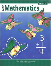 Grade 1 MCP Mathematics Level A Student Book 1st
