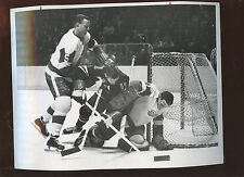 March 3 1963 Terry Sawchuck Detroit Red Wings 8 X 10 Hockey Photo