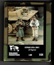 VERLINDEN 1131 - GERMAN NCOs WWII (2 Figures) - 1/35 RESIN KIT