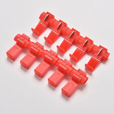 50x Red Electrical Cable Connectors Quick Splice Lock Wire Terminals  Crimp
