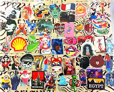 100pcs /lot Sticker Bomb Decal Vinyl Roll Car Skate Skateboard Laptop Luggage EE