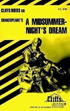 Shakespeare's A Midsummer Night's Dream (Cliffs Notes) by Matthew Black