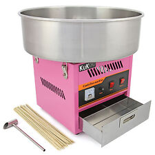 KuKoo Candy Floss Making Machine Cotton Candy Maker Sugar Party Fair FREE Sticks