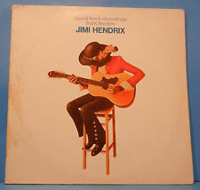 SOUNDTRACK RECORDINGS FROM THE FILM JIMI HENDRIX 2XLP 1973 GERMANY VG+/VG!!B