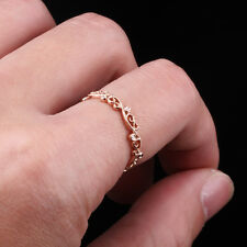 Engagement Natural Diamonds Milgrain Ring Filigree Band Solid 10 Carat Rose Gold