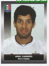 231 ARIEL CARRENO ARGENTINA ONCE CALDAS STICKER PANINI COLOMBIA PRIMERA A 2008