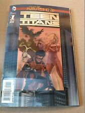 dc,TEEN TITANS,1,neuf,VO,futures end,3D COVER