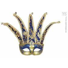 Jester Eyemask for Venetian Masquerade Carnival Fancy Dress Accessory