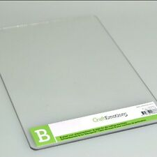 Die-Cutting Embossing B Plate For Cuttlebug Single Adapter 19.7cm x 15cm x 3mm