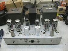 amplifier with Dynaco A430 output  Sovteck 6550 PP for western electric system