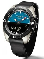 NEW MEN'S TISSOT T-TOUCH EXPERT SOLAR TACTILE TITANIUM WATCH T091.420.46.041.00