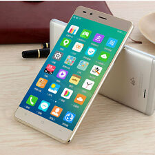 "Quad Core Android 4.4 Smartphone 4G Unlocked 5"" Mobile Phone Dual SIM GPS"