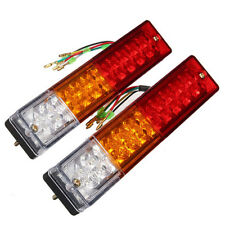 12V ATV Truck 20 Led Trailer Rear Tail Brake Reverse Light Turn Signal Lamp hq