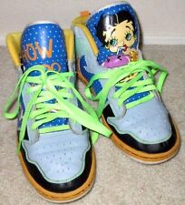 Cool Womens Size 10 Betty Boop Milkshake NYC Fetti Betty Shake Sneakers Shoes