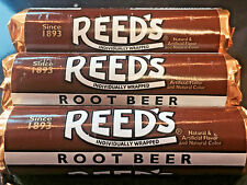 Reed's Root Beer is BACK! 3pk Classic Hard Candy Rolls FREE SHIPPING