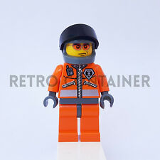 LEGO Minifigures - 1x wc018 - Coast Guard - World Omino Minifig Set 7044