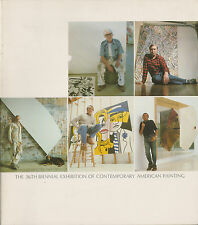 Johns, Lichtenstein, Rauschenberg, de Kooning, Kelly, 36th Biennial Catalogue
