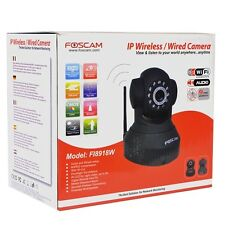 Foscam FI8918W Wireless Day/Night IP Camera with smartphone access in Box