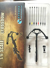 """1/6 Crossbow 8pcs Arrows Set Soldiers Hunter Military Weapon Model F 12"""" Figures"""