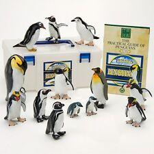 Penguins PVC Figure Set 12kinds 13pcs In Box Colorata Japan