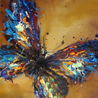 "20*20"" Abstract Oil Painting on canvas Butterfly/Hand-painted/NO Frame OP0309"